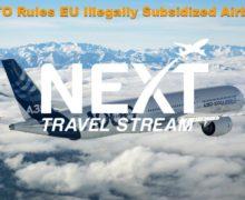 Airbus Subsidies Illegal says WTO