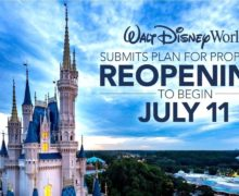 Disney World to Reopen July 11th