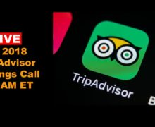 Live TripAdvisor 2Q Call: CEO Stephen Kaufer Discusses TRIP Outlook